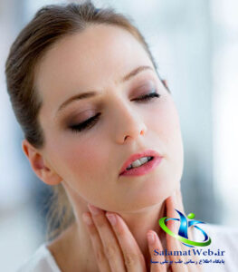 درمان گلو درد با غازیاقی