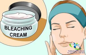 پمادی برای روشن شدن پوست صورت