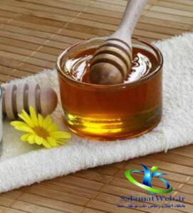 درمان ترک پا با عسل