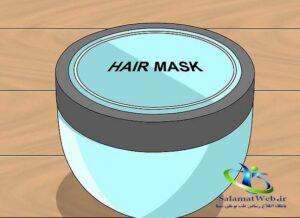ماسک مو برای موهای خشک و وز