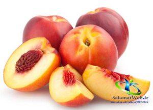 خواص درمانی میوه شلیل برای لاغری