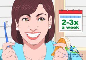 سفید کردن دندان با پوست موز