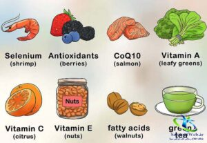 برای شفافیت رنگ پوست چه بخوریم