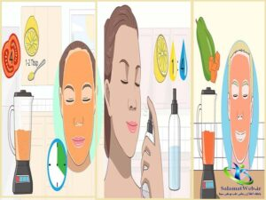 ماسک برای پاکسازی و شفافیت پوست